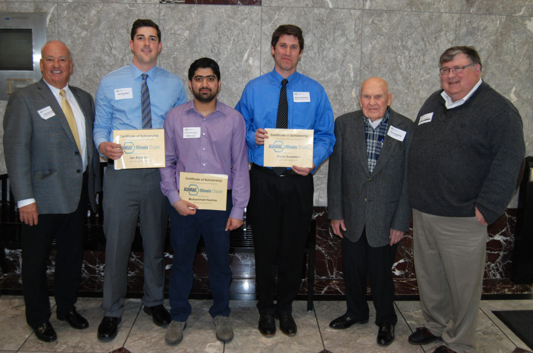 ASHRAE winners 2016