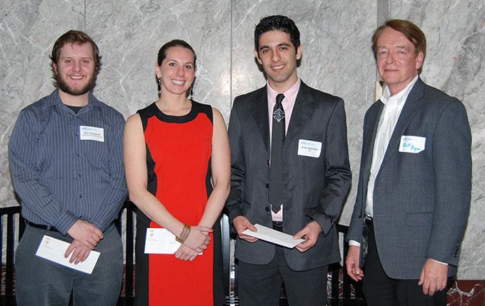 ASHRAE Illinois Chapter 2014 Scholarships winners together